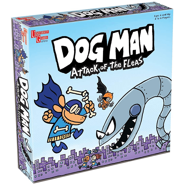 University Games Dog Man - Attack of the Fleas Game