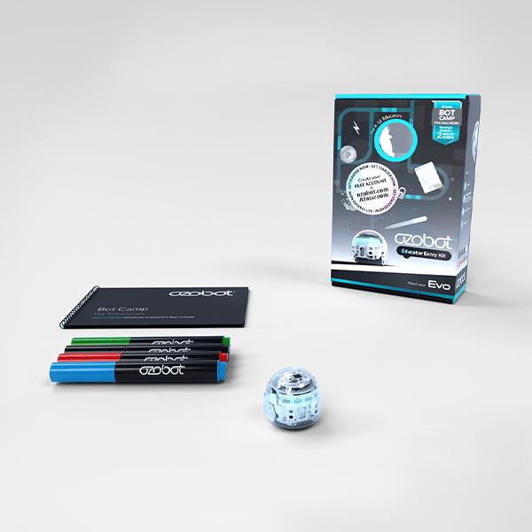 Ozobot Evo Educator Kit - White (Includes Evo and BotCamp)