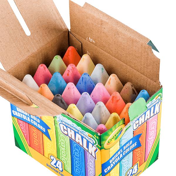 Crayola Washable Sidewalk Chalk - 24 Pack