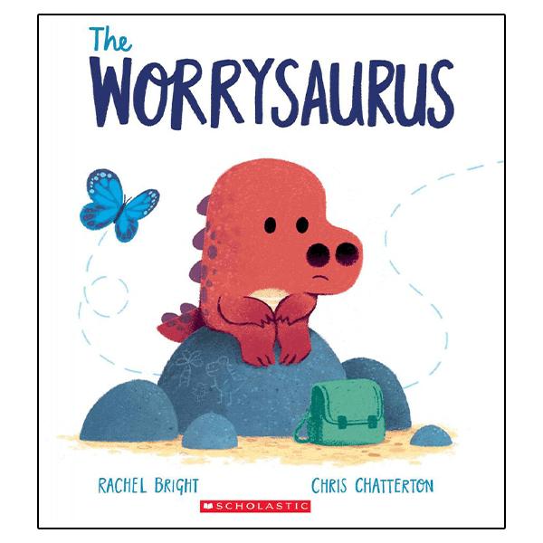 Scholastic The Worrysaurus Hardcover Book