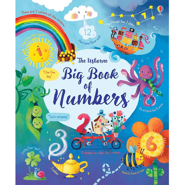 Big Book of Numbers Hardcover