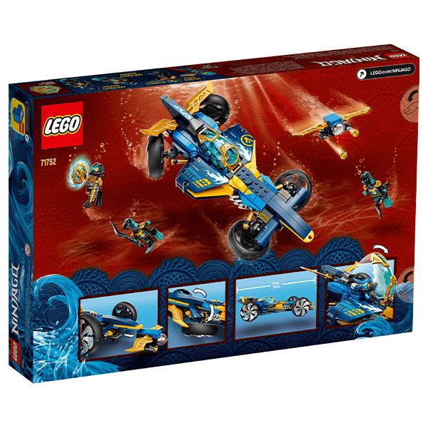 LEGO® NINJAGO® 71752 Ninja Sub Speeder