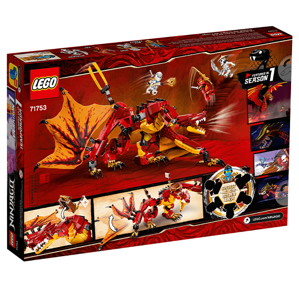 LEGO® NINJAGO® 71753 Fire Dragon Attack