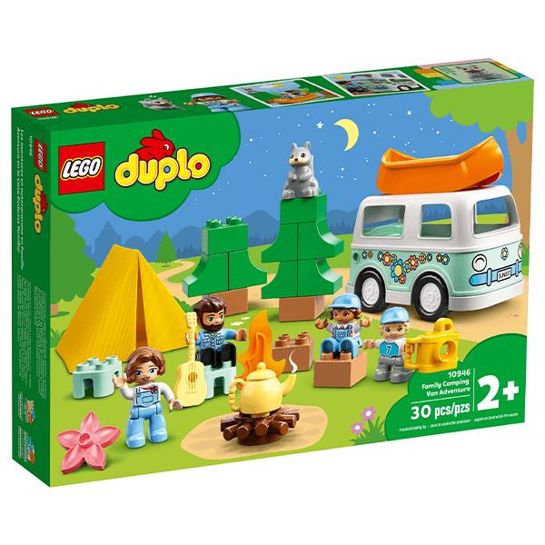 LEGO® DUPLO® 10946 Town Family Camping Van Adventure