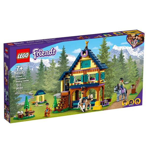 LEGO® Friends 41683 Forest Horseback Riding Center