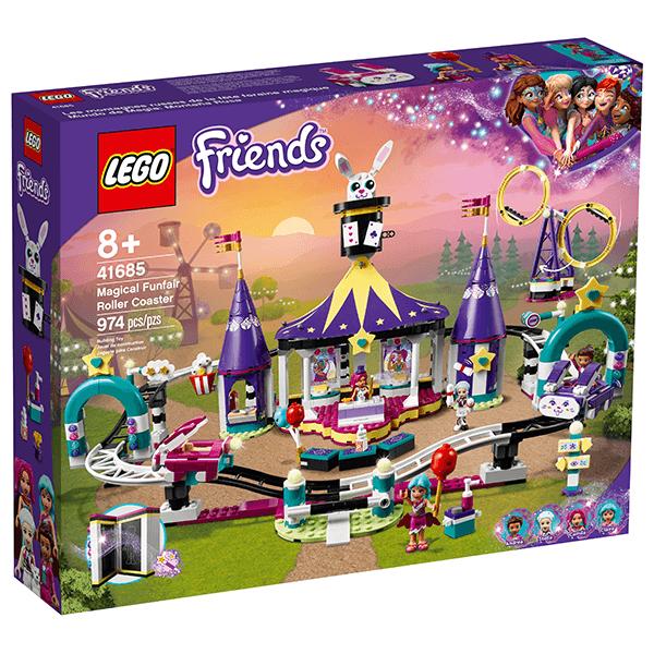 LEGO® Friends 41685 Magical Funfair Roller Coaster