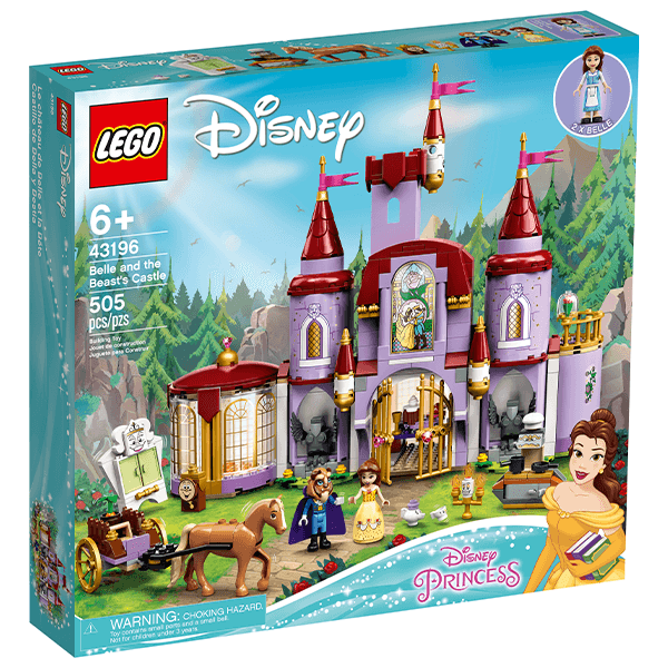 LEGO® Disney 43196 Belle and the Beast's Castle