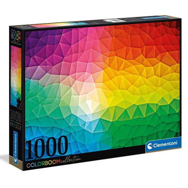 Clementoni ColorBoom Mosaic 1000 Piece Puzzle