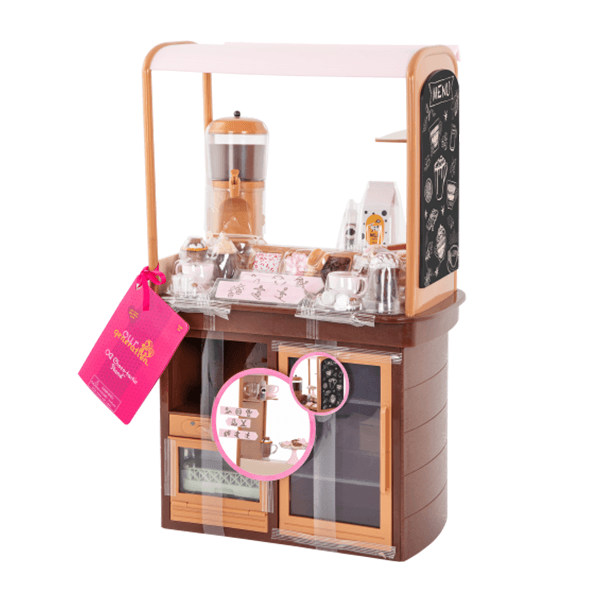 Our Generation Choco-Tastic Stand Accessory Set