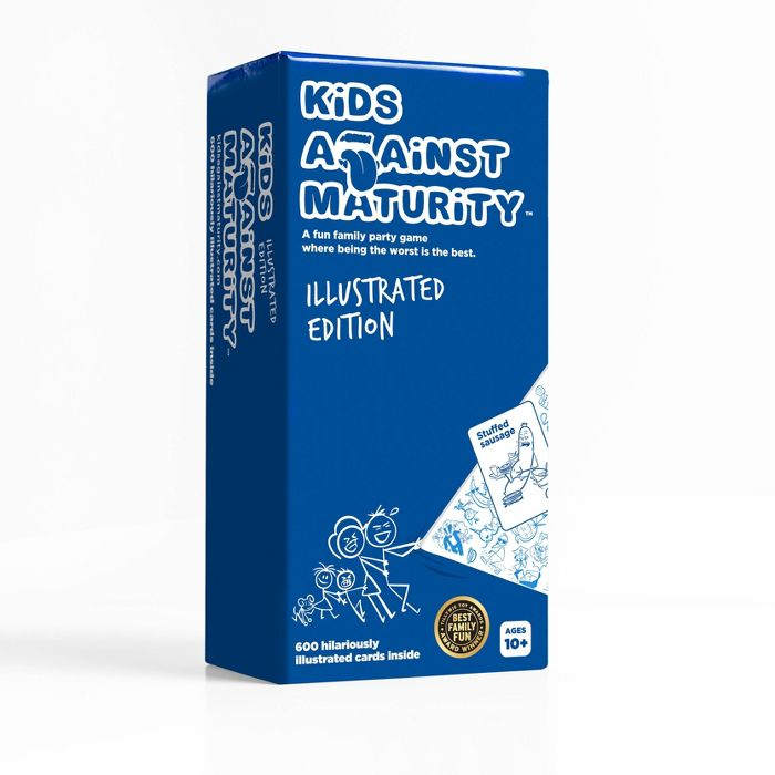 Kids Against Maturity Family Card Game (Illustrated Version)