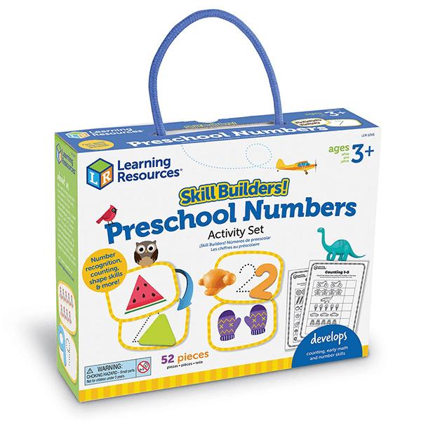Learning Resources Skill Builders! Preschool Numbers