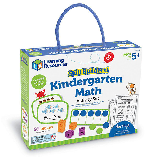 Learning Resources Skill Builders! Kindergarten Math