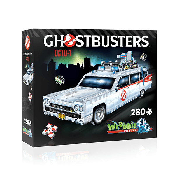 Wrebbit Ghostbusters Ecto-1 3D Puzzle (280 Pieces)