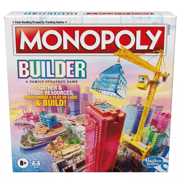 Hasbro Games Monopoly Builder