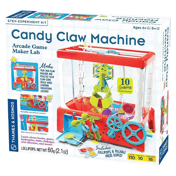 Thames & Kosmos Candy Claw Machine - Arcade Game Maker Lab