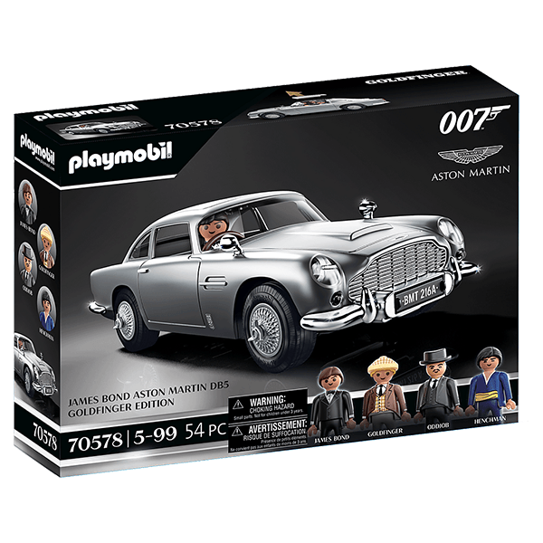 Playmobil James Bond Aston Martin DB5 - Goldfinger Edition