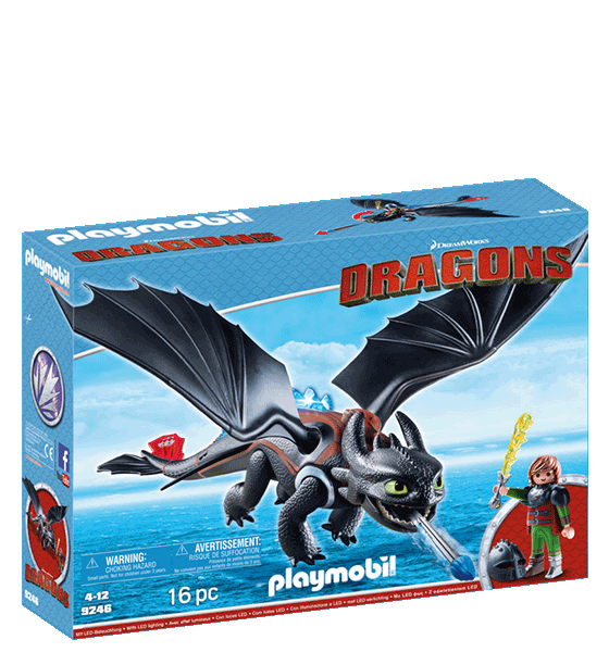 Hiccup and Tootless Playmobil Playset