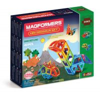Magformers Mini Dinosaur Set (40 PCS)