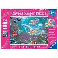 Ravensburger Little Mermaids 100 Piece Glitter Puzzle
