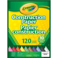 Crayola Construction Paper 120 Pages