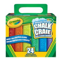 Crayola 24 Washable Sidewalk Chalk