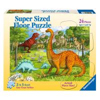Ravensburger Dinosaur Pals Super Sized 24 Piece Floor Puzzle