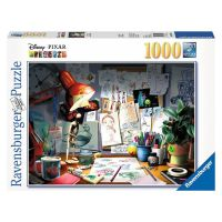 Ravensburger Disney Pixar The Artist's Desk 1000 Piece Puzzle