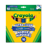 Crayola Ultra-Clean Washable Markers 10 Count