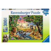 Ravensburger Evening at the Waterhole 300 Piece Puzzle