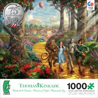 Thomas Kinkade WB Movie Classics: Wizard of Oz 1000 Piece Puzzle