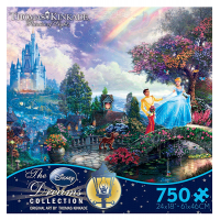 Thomas Kinkade Disney Dreams Collection: Alice in Wonderland 750 Piece Puzzle