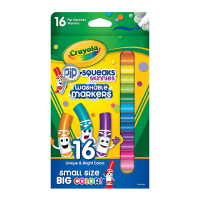 Crayola Pipsqueaks 16 Count Washable Markers