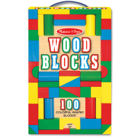 Melissa & Doug 100 Wooden Block Set
