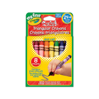 Crayola My First Triangular Crayons 8 Count