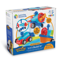 Learning Resources Build It Car, Boat & Plane Set