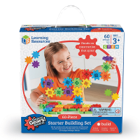 Learning Resources Gears! 60 Piece Set