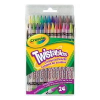 Crayola Twistable Coloured Pencils 24 Count