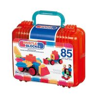 B Toys Bristle Blocks 85 Piece Set
