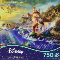 Ceaco Disney The Little Mermaid 750 Piece Puzzle