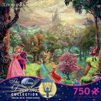 Ceaco Disney Dreams Sleeping Beauty 750 Piece Puzzle