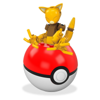 Mattel Mega Construx Pokemon Abra Pokeball Set
