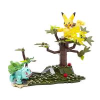 Mattel Mega Construx Pokemon Battle Set Pikachu vs Bulbasaur