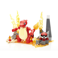Mattel Mega Construx Pokemon Evolution Set Charmeleon
