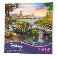 Thomas Kinkade Disney 101 Dalmatians Puzzle (750 Pieces)