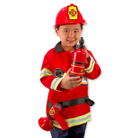 Melissa & Doug Fire Chief Roleplay Costume Set