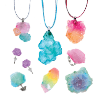 Creativity for Kids Color Your Mood Crystal Jewelry - Jewels1