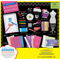 Creativity for Kids Designed by You Fashion Studio Kit - Box Back