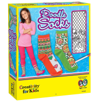Creativity for Kids Doodle Socks Kit - Box Front