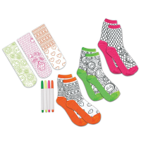 Creativity for Kids Doodle Socks Kit - Contents 2