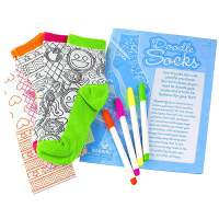 Creativity for Kids Doodle Socks Kit - Contents 1
